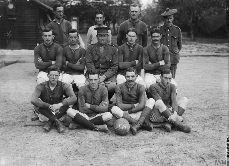 North Park Lincoln >> First World War Army Football photographs