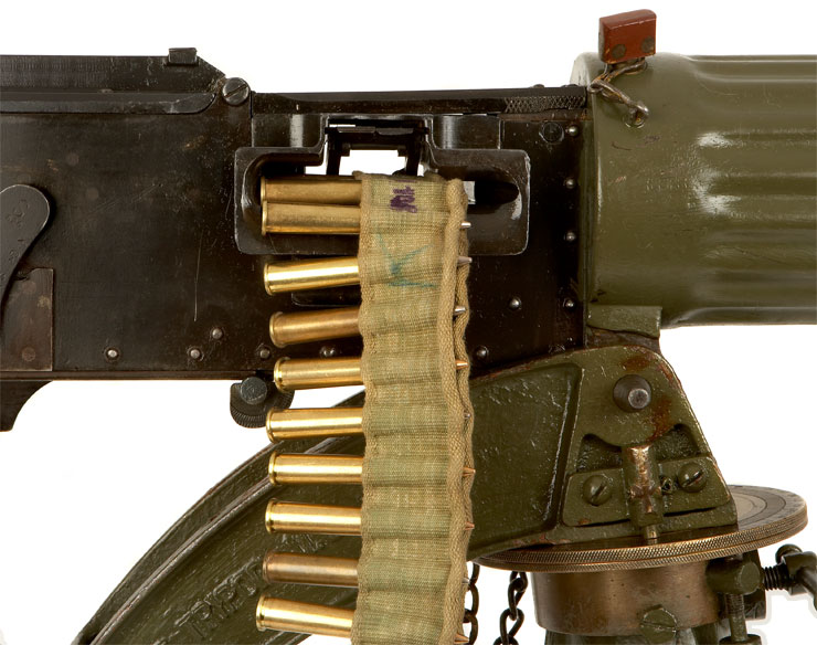 Vickers Machine Gun | Football and the First World War