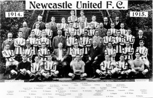 Newcastle United 1914/15