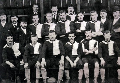 Newton Heath FC (current Manchester United FC) team for the 1892-93 season