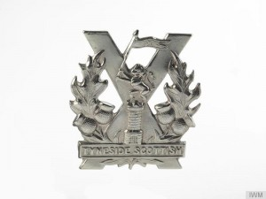 20th-23rd, 29th, 33rd Battalions, Northumberland Fusiliers (Tyneside Scottish) Cap Badge