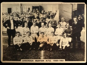 Greenock Morton 1920/21