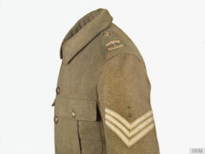 Other Ranks 1907 Service Jacket, Sergeant, 20th Northumberland Fusiliers