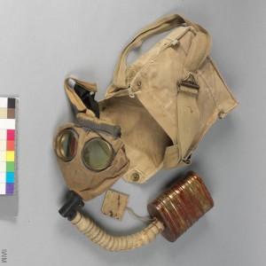 British Respirator, Small Box Type & Haversack.