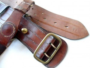 British Army Sam Brown Belt