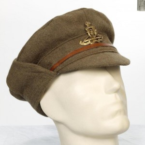 Other Ranks 1915 Pattern Winter Trench Cap, Royal Artillery
