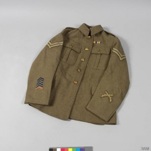 1907 Pattern Service Jacket, Corporal, Middlesex Regiment