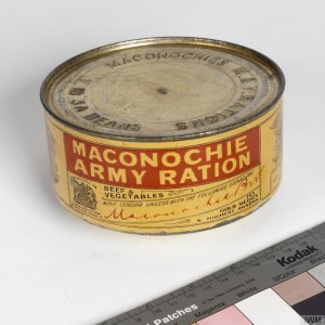 Maconochie tinned ration