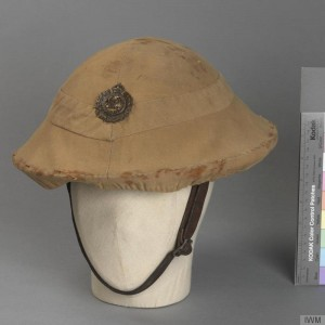 British Steel Helmet MK1 with Royal Engineers badge