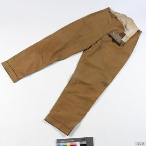 Officer Tropical Service Dress (KD) Trousers
