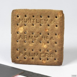 British Army Biscuit (Huntley and Palmers Army No 4)